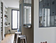Small Spaces Student Apartment Paris via Stylejuicer