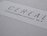 Cereal Magazine via Stylejuicer