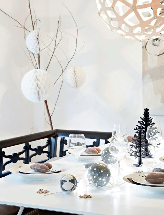 christmas decorations nordic style. Black Bedroom Furniture Sets. Home Design Ideas