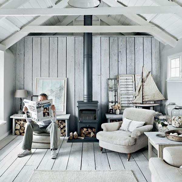 INTERIORS CRUSH SHABBY CHIC COTTAGE IN CORNWALL