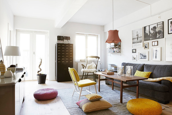 Arty Apartment In Stockholm