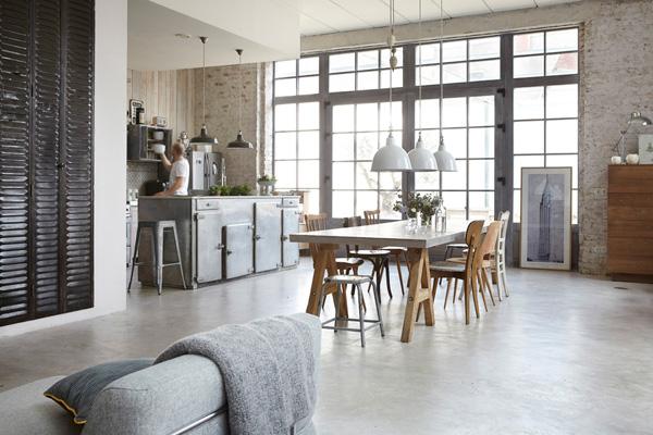 Interiors Crush Bohemian Industrial Design