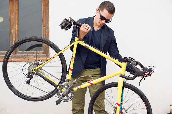 Cool Stuff Cycling Blazer By Oliver Spencer