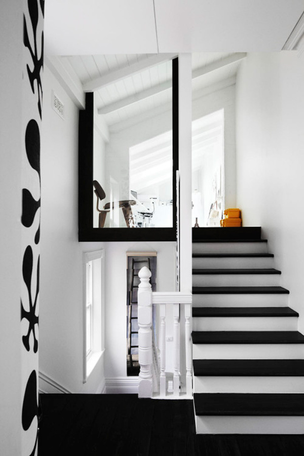 Park Street, White, Contemporary, Melbourne, Modern, Whiting Architects, Black, Australia, Interior Design,