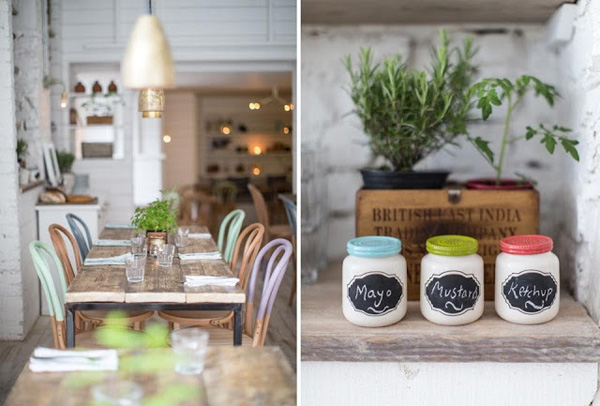 PLACES TO GO HALLYS CAFE AND DELI IN SW LONDON