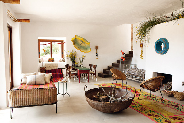 Ibiza Style Interieur : Interiors crush quirky and rustic home in ibiza