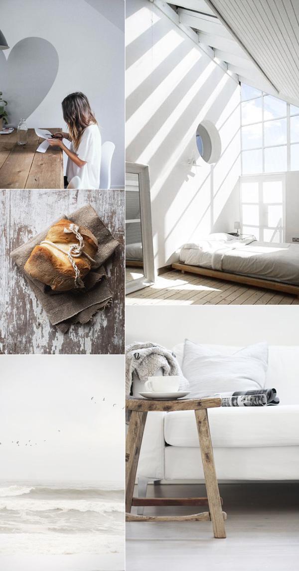 heart, love, sun, light, bed, relax, enjoy, chill, weekend, calm, walk, beach, bake, bread, read, wood, feet up, style, feeling, sensual, mood board, create, design