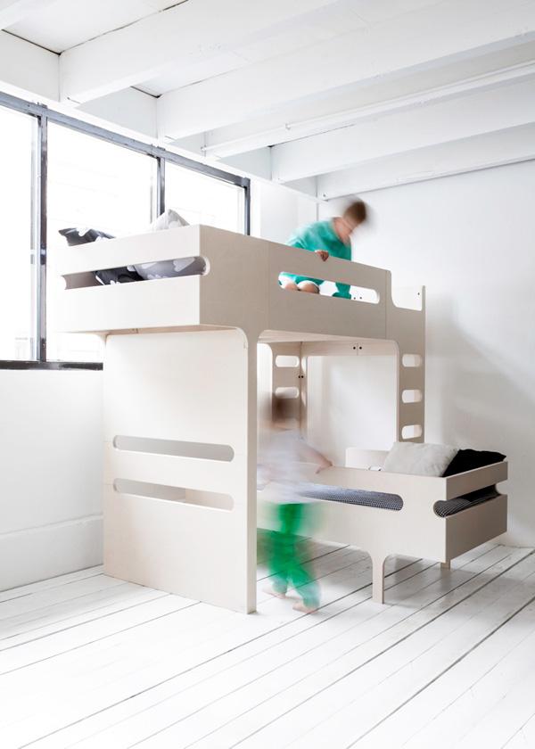 dutch, rafa kids, simple, modern, functional, architects, rafa, furniture, sustainable, european birch, plywood, engineered, zero waste, F&R bed, teen bed, K desk, material efficiency, design, function, bedding, femke veltkamp, windstilte
