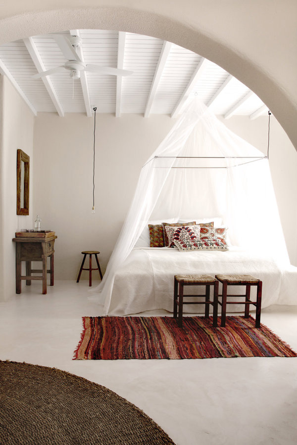 san giorgio mykonos, greece, design hotels, travel and places, interior design, styling, annabell kutucu, michael schickinger, boho, bohemian, gypsy, feel, vibe, ease, leisure, enjoyment, holiday, craftsmanship, textures, fabrics, organic