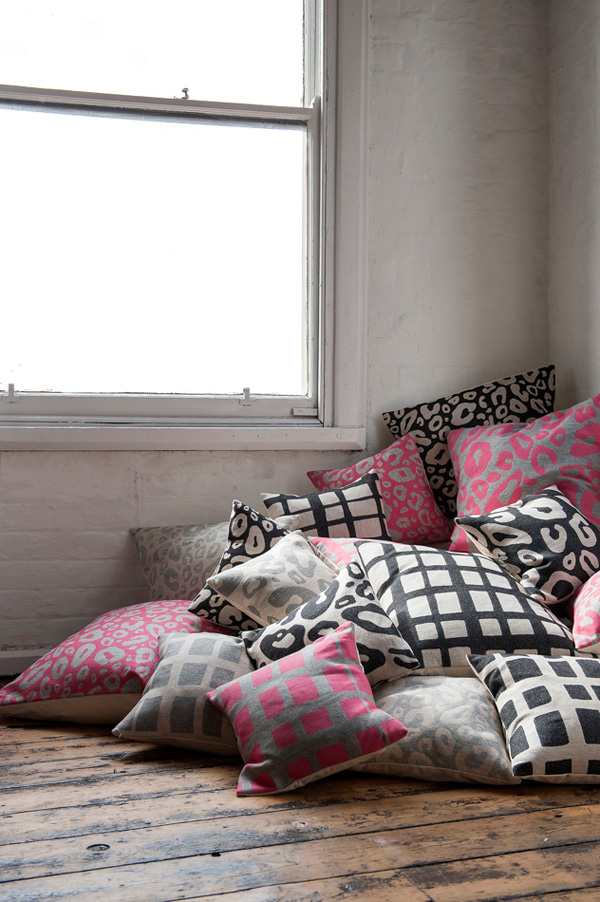 tori murphy, textiles, home, design, simple, modern, bold, pattern, black accents, style, quality, hand drawn, british, manufacturing, nottingham, fabric, craftsmanship, imperfection, trend