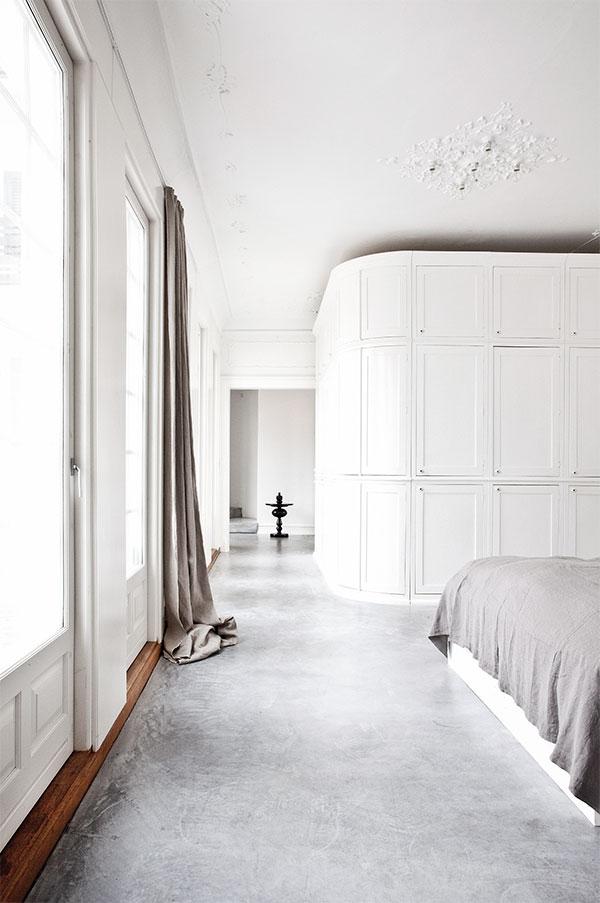 Interiors Crush Villa With Polished Concrete Floors