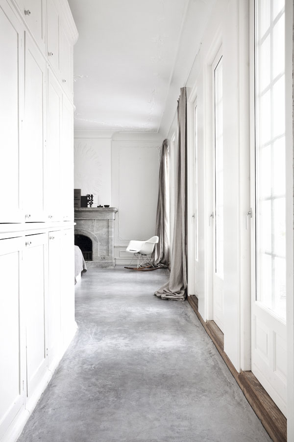 norm architects, Jonas Bjerre-Poulsen, photographer, architect, designer, style, interior design, villa, renovation, vedbaek, copenhagen, scandinavian, clean, simple, original details, light, polished concrete, floor, denmark, daylight, trend, style