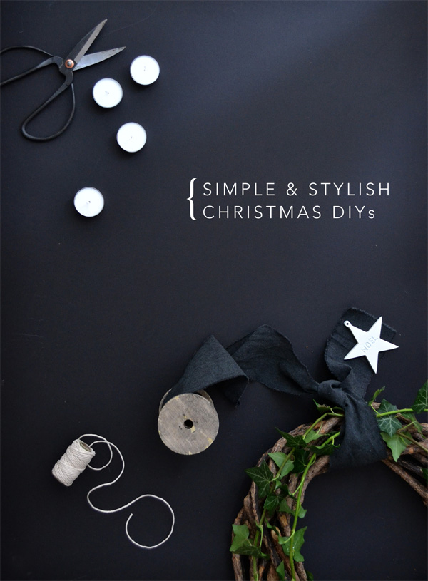 christmas, home, decor, decoration, ideas, tips, trends, diy, diys, simple, stylish, tasteful, minimal, quick, easy, interior design, styling, style, black and white, modern rustic, magic, cheer, jolly, season, festive, project