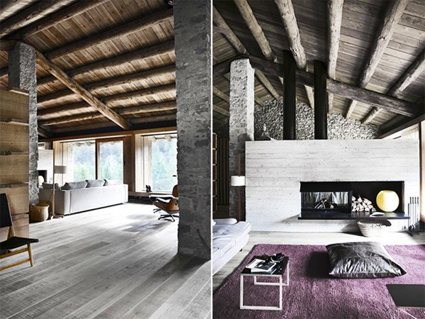 Modern Rustic Cabin In The Pyrenees