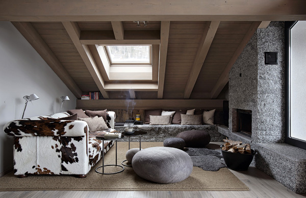 Switzerland Swiss Ski Chalet Dutch Interior Designer Marcel Wolterinck