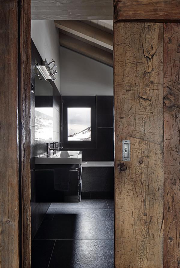 switzerland, swiss, ski, chalet, Dutch, interior designer, Marcel Wolterinck, reclaimed wood, lived in, textures, materials, modern rustic, new-build, pinterest, mountains, alps, alpine, design, style, muted palette, trend, interior, crush