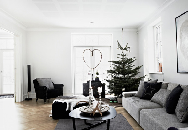Contemporary Modern Rustic Christmas Styling Decor Decorations Merry