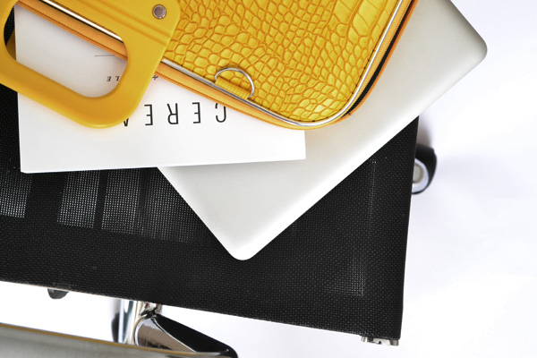 giveaway, competition, south london, store, shop, do south, laptop bag, italian, bombata, instagram, style, styling, canary yellow, embossed crocodile print