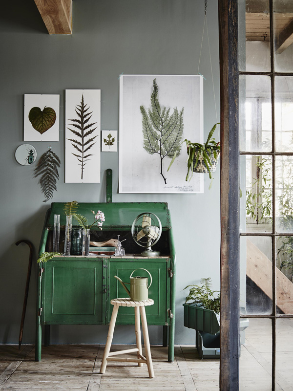 Living with plants for Kleurcombinaties interieur