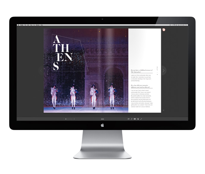 the nutcracker, special edition, spectacle_arts, contemporary, modern, ballet, theatre, opera, digital magazine, issuu, interviews, set designers, artists, photography, graphic shapes, contrast, strong visual language, shapes, lines, cracking, walnut, trend, style, my work