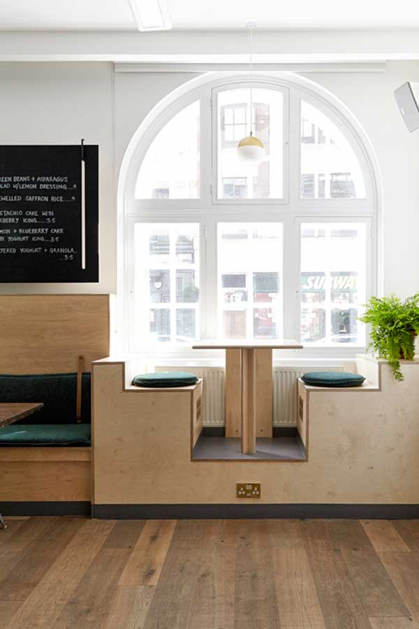 Function and form 03 nina co at dean street cafe for Interior design apprenticeships london
