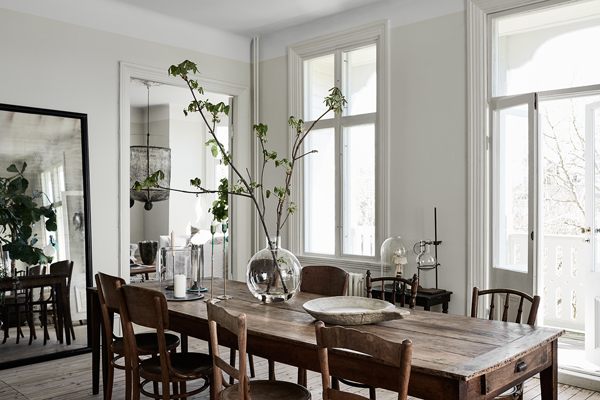 interiors crush, decor, vintage finds, old and new, Scandinavian, modern rustic, style, trend, styling, lotta agaton, photography, kristofer Johnsson, drama, moss green, home, artilleriet founders, christian and bjorn