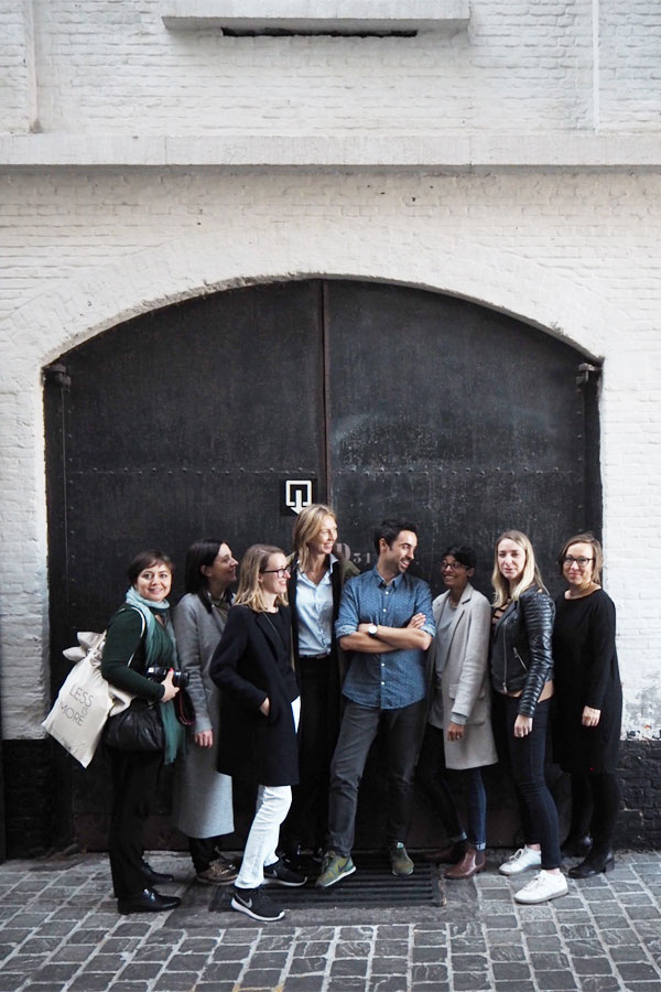 function and form, bloggers tour antwerp, Belgium, Belgian, visit antwerp, cool, hip, style, trend, design, industrial, eclectic mix, kaffeenini, design centre de winkelhaak, Eilandje, hansi ombrengt, p8 architecten, contemporary, modern, mas museum, gallery traan, veerle wenes, felix pakhuis, balls and glory, old docks, regeneration, Axel Vervoordt, Dries van Noten, Ann Demeulemeester, Dirk Bikkembergs, royal academy of fine arts, modern belgian, aesthetic, brick flooring, pr agency pentacom