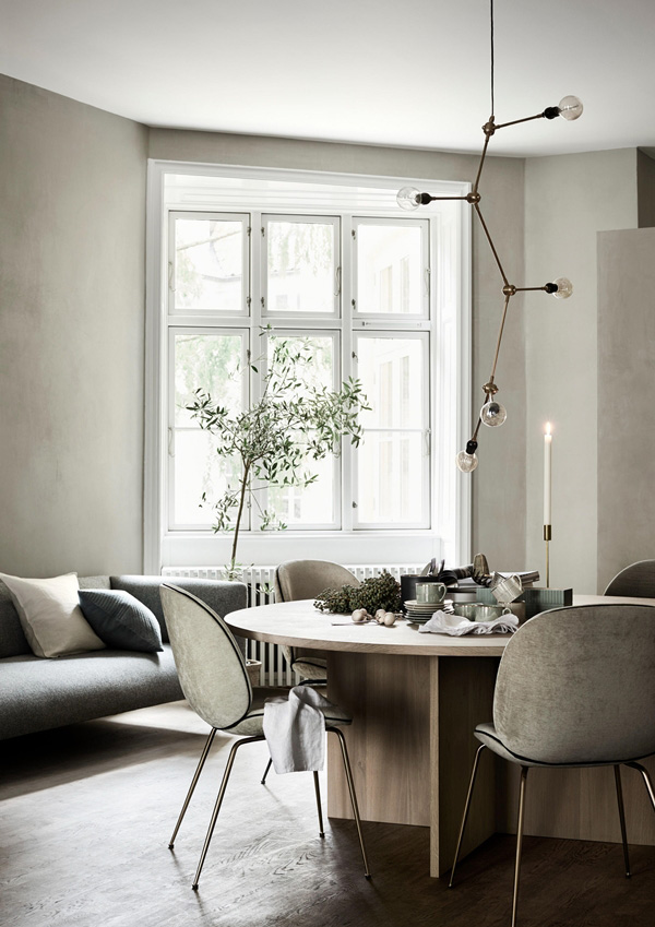 christmas, HM home, spring 2017, trend, style, styling, lotta agaton, pia ulin, photographer, brass, green, plants, warm, cozy
