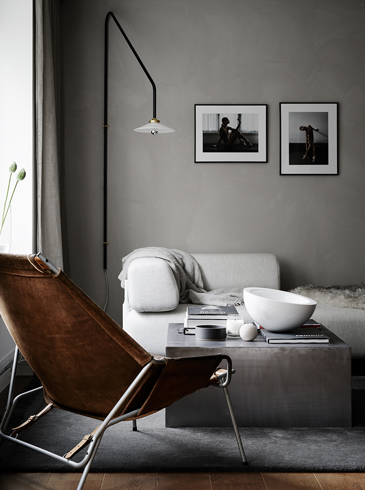 interiors, inpo, inspiration, moody, muted, sweden, tones, cosy, textures, soft lighting, warm, relaxing, decoration, pella hedeby, style, styling, trend, kristofer johnsson, photographer