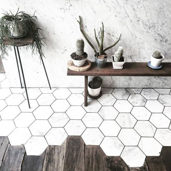 mojo, interiors, interior, style, styling, trends for 2017, hexagonal tiles, dark greens, murky, bloggers, Miele Experience Centre, matt surfaces, antwerp, st vincents, houzz