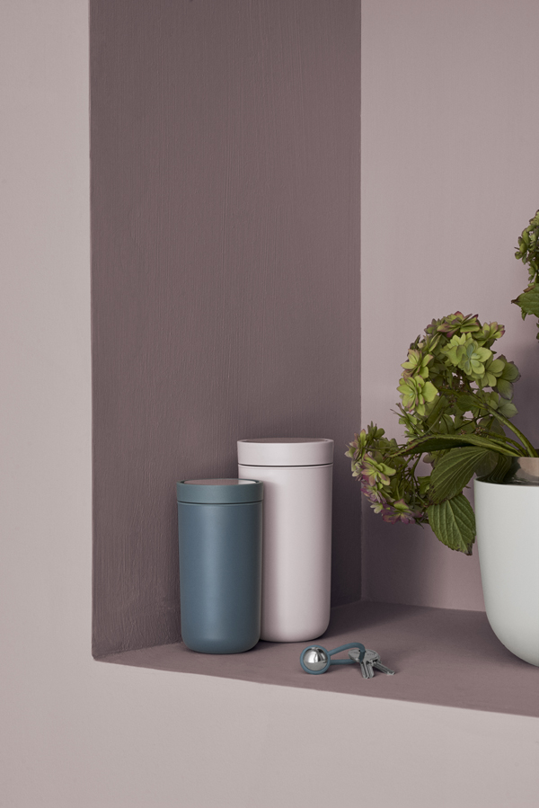 spring news from stelton, stelton, danish, design, form, function, aesthetics, thermos cup, E77 vacuum jug, designer maria berntsen, material, sensual, soft new colours, i:cons collection