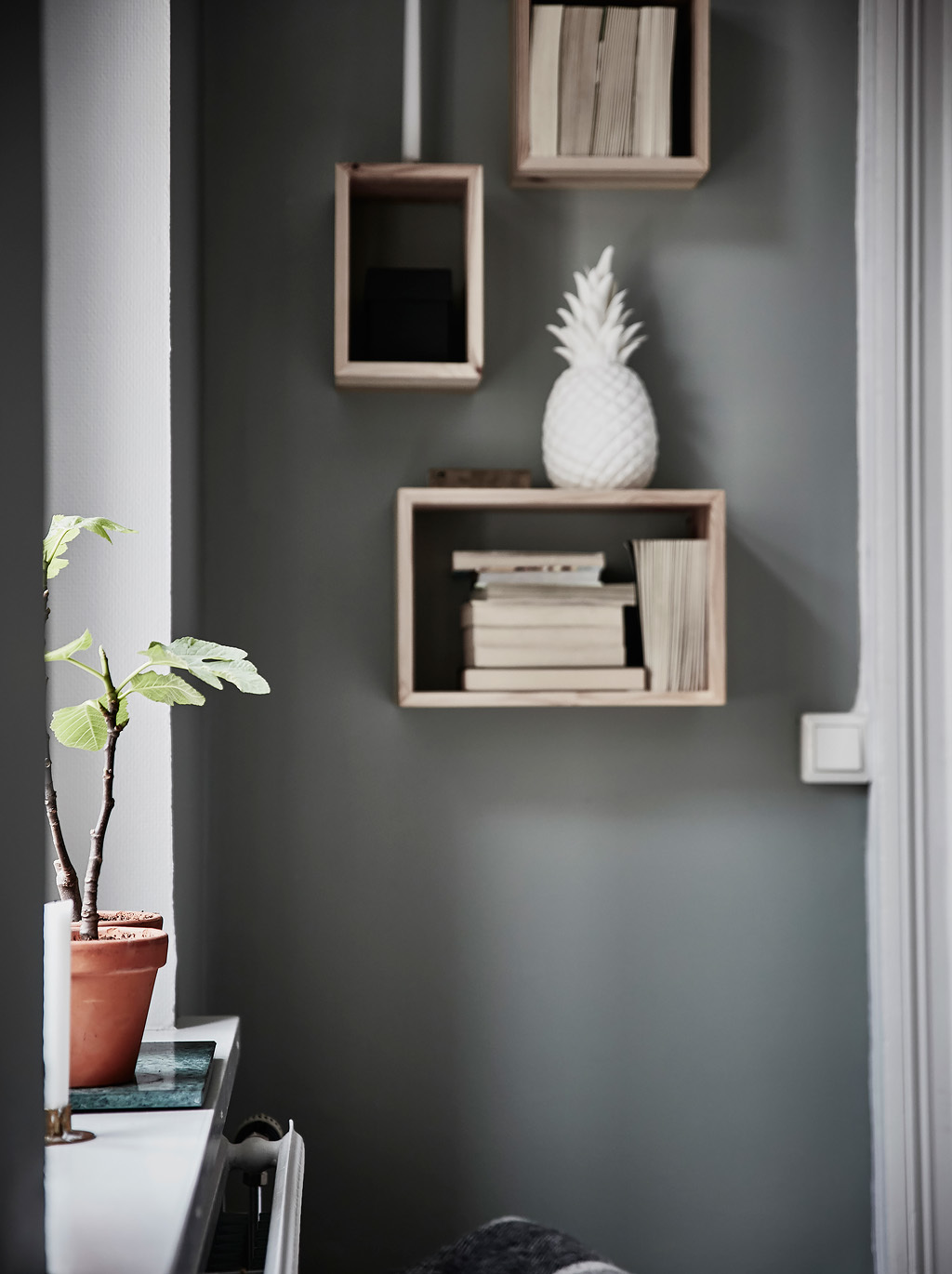grey green apartment sweden interiors crush real