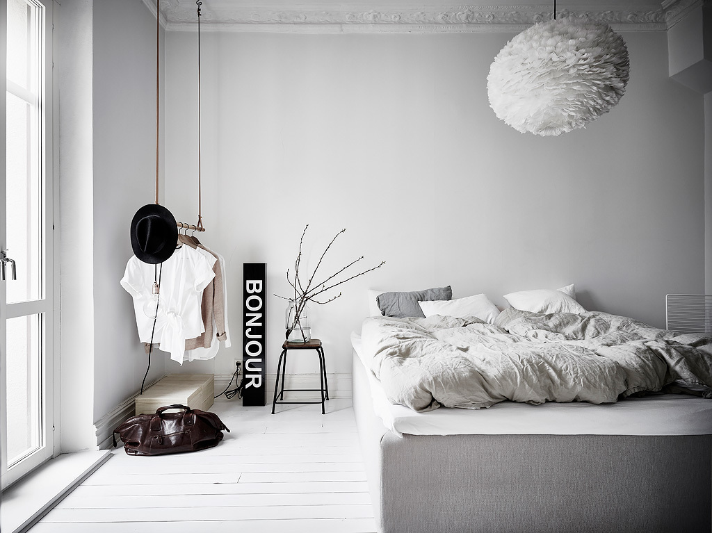 grey green apartment, sweden, interiors crush, real estate, photography, style, styling, textures, exposed brick wall, warm, welcoming, inviting, trend
