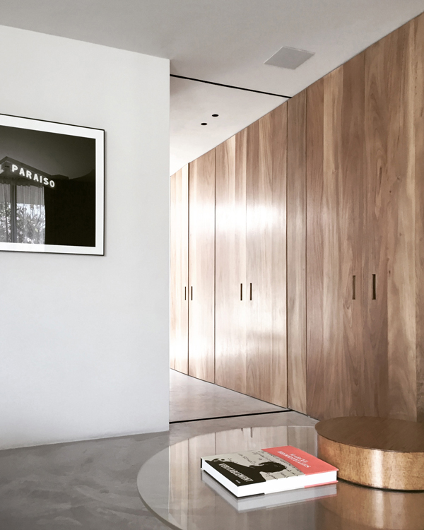refurbishment, mexican townhouse, belgian architect, Nicolas Schuybroek, interior designer Marc Merckx, Vincent van Duysen, detail, craftsmanship, simplicity, unassuming, tactile, raw, elegant, polished concrete floor, arabescatto marble, locally sourced parotta wood, urban jungle, timeless minimalism, trend, style, inspiration